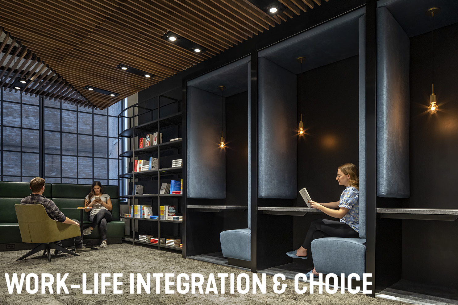 Work-Life Integration and Choices Workplace Office Design Strategy Lise Newman SmithGroup
