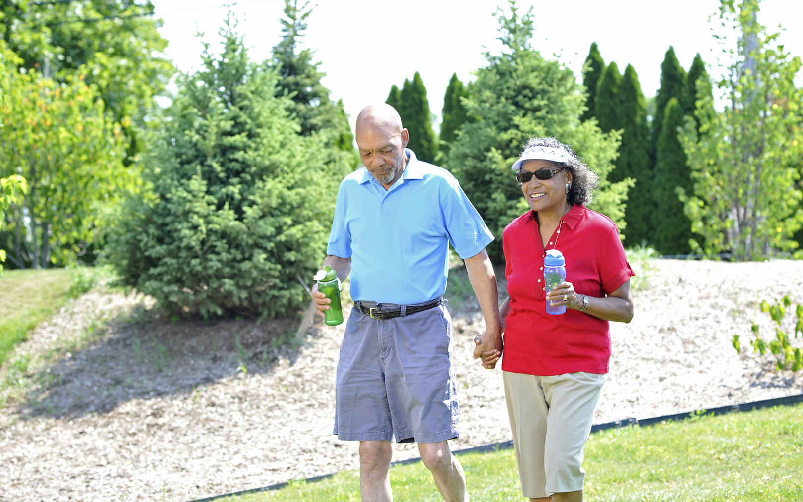 Senior Living Design After COVID-19 - Couple Walking