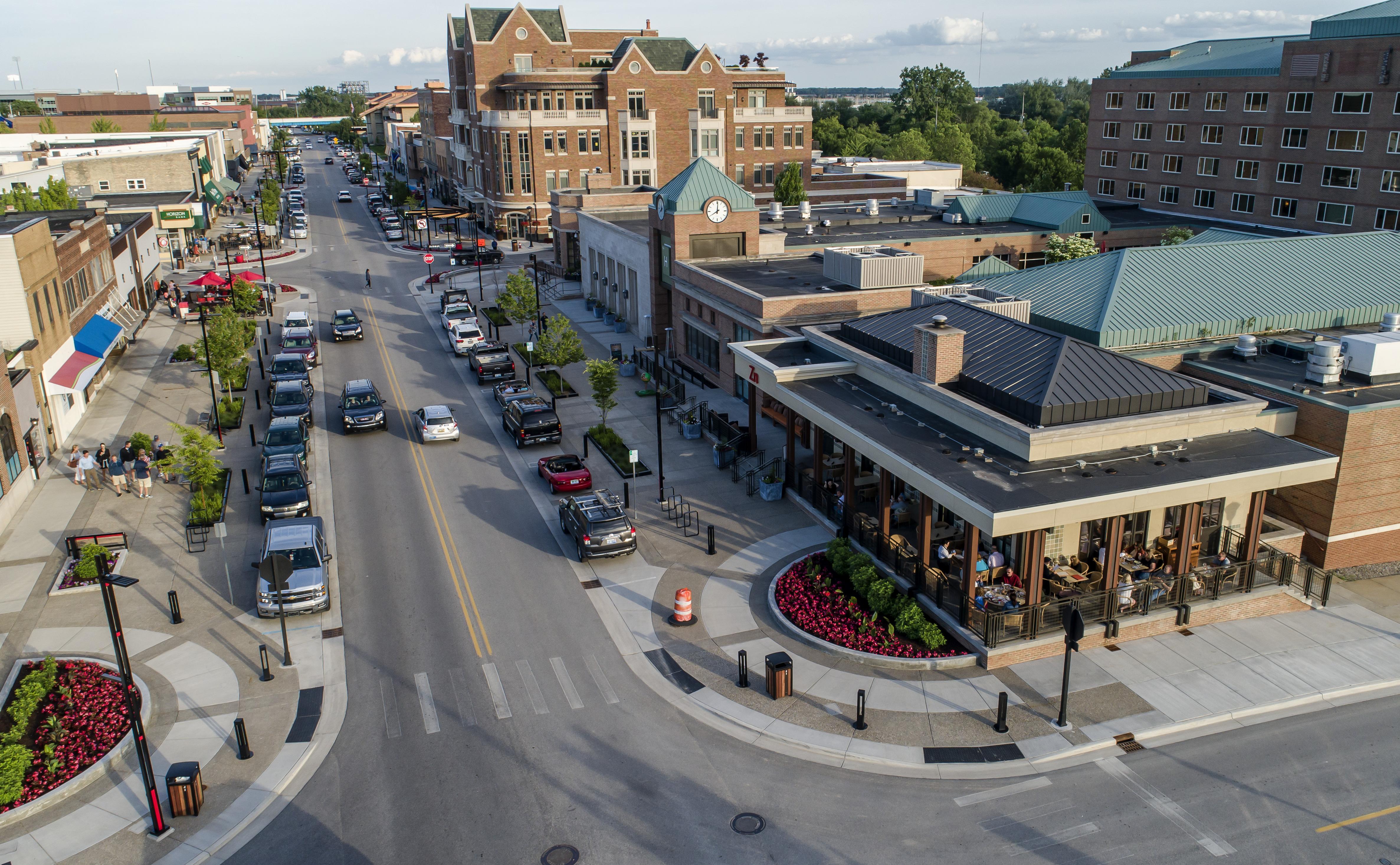 Midland Streetscape