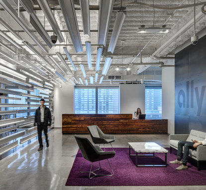 Ally Financial Workplace Design Interiors SmithGroup