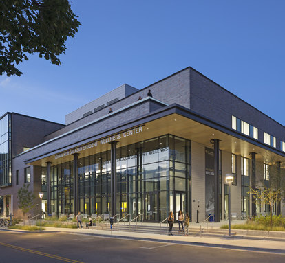 University of Colorado Denver - Lola + Rob Salazar Wellness Center SMithGroup Architecture Higher Education