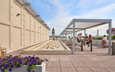 MetLife 555 12th Street Office Design Rooftop SmithGroup