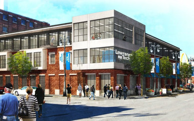 Detroit Higher Education Redevelopment SmithGroup