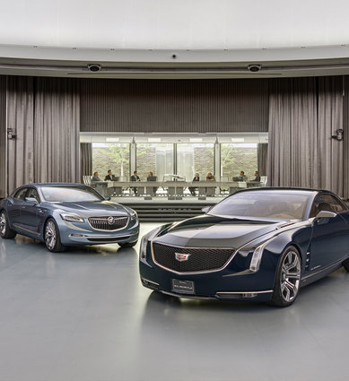 General Motors Design Dome Eero Saarinen Cadillac Buick SmithGroup