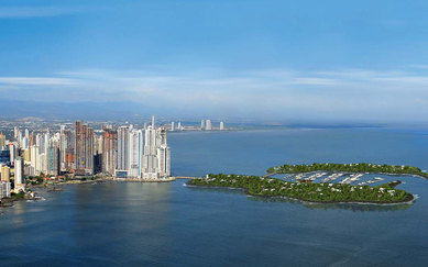 Ocean Reef Islands and Marina Plan Panama Skyline SmithGroup