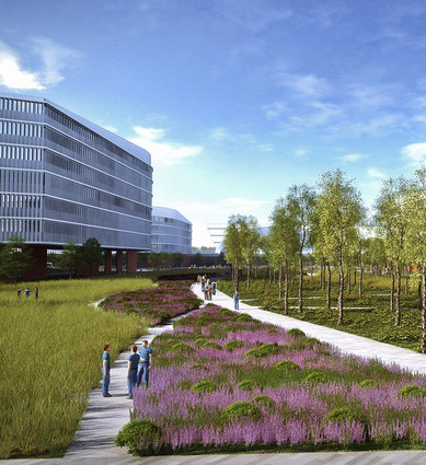 Ford Motor Company Campus Workplace Master Plan