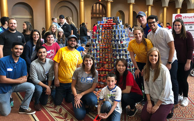 SmithGroup Canstruction
