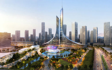 Kunming Wujiaba New City Center SmithGroup