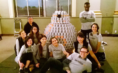Los Angeles Canstruction SmithGroup