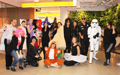 Los Angeles halloween Event SmithGroup