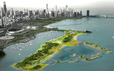 Northerly Island Framework Plan SmithGroup