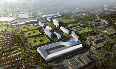 Ford Motor Company Campus Master Plan SmithGroup