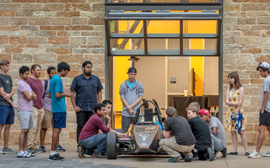 University of Texas Dallas Engineering Lab Car Science & Technology SmithGroup