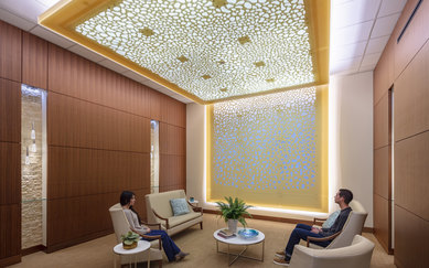 CPMC Van Ness Campus Hospital Meditation Room SmithGroup