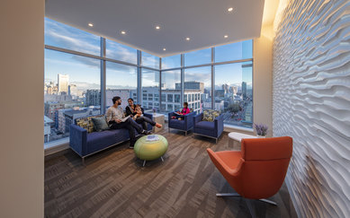 CPMC Van Ness Campus Hospital Family Lantern Room SmithGroup