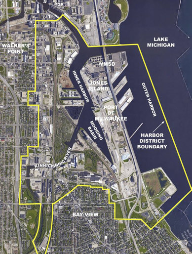 Milwaukee Harbor District SmithGroup