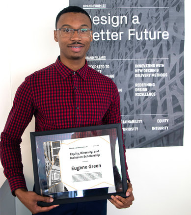 Eugene Green University of Maryland Equity Diversity Scholarship Winner SmithGroup 2019 Architecture