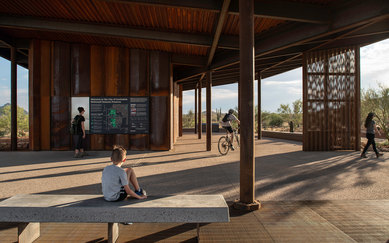 Granite Mountain and Fraesfield Trailheads Landscape Architecture Parks Desert Scottsdale Arizona SmithGroup