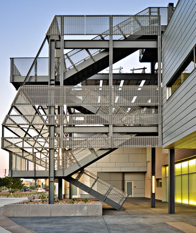 Mesa Community College Physical Science Building Architecture Exterior Higher Education Mesa Arizona SmithGroup