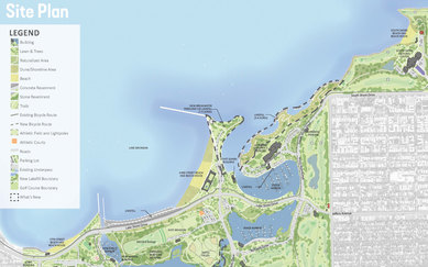 Chicago South Lakefront Plan Park District Lake Michigan Parks and Open Spaces Landscape Architecture SmithGroup