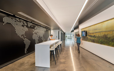 Global Industrial Manufacturing Office Workplace Design Interior Architecture