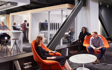 SmithGroup Chicago Office Interiors Renovation Jewelers Buildings Collaboration