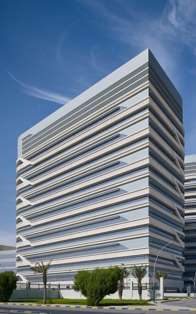 Al Jahra Hospital Exterior healthcare architecture SmithGroup Boston