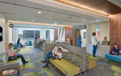 Kaiser Permanente Alexandria SmithGroup Healthcare Interiors