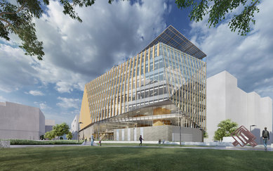 Virginia Tech innovation Campus rendering exterior smithgroup Washington DC Higher Education Architecture