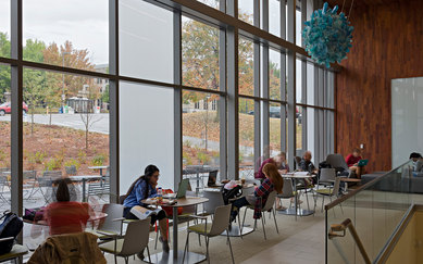 University of Arkansas Champions Hall Architecture Interior Higher Education SmithGroup