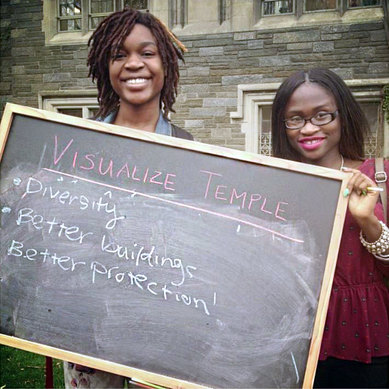 Temple University Visualize Temple Students Women