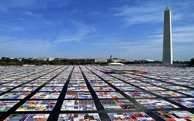 SmithGroup LGTBQ Aids quilt Washington DC