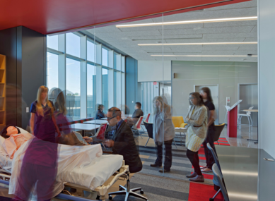 St. Xavier University - Simulation Learning Environment | SmithGroup
