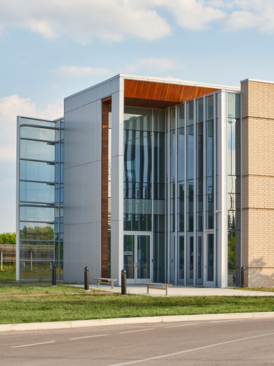 Indiana Toll Road Office Building Elkhart Indiana Exterior Workplace Architecture SmithGroup Chicago