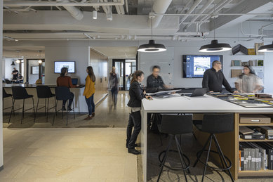 Detroit Office new interiors SmitHGroup