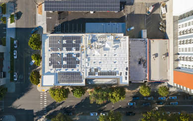 DPR Sacramento Rooftop energy SmithGroup