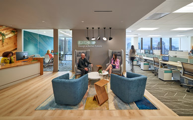 San Diego SmithGroup Office workplace interiors