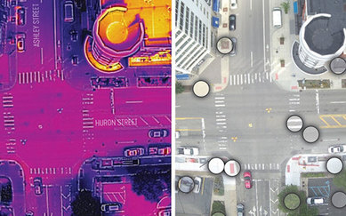 COMBATTING THE URBAN HEAT ISLAND EFFECT WITH UAV THERMAL IMAGING