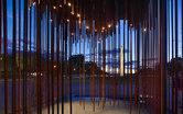 Society's Cage Interior Dusk Monument SmithGroup