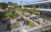 CSU Long Beach Student Success Center Courtyard