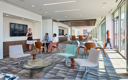 MetLife 555 12th Street Office Design SmithGroup