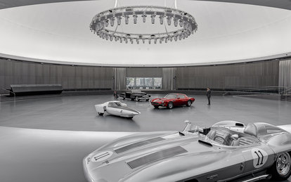 General Motors Design Dome Eero Saarinen SmithGroup