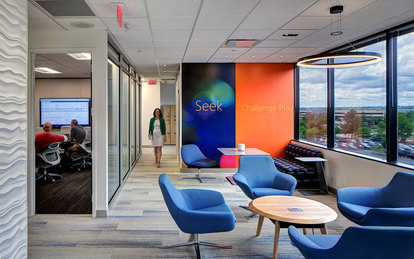 Microsoft Office Independence Workplace Design SmithGroup