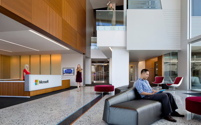 Microsoft Office Mountain View Workplace Design SmithGroup