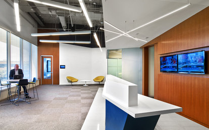 Microsoft Office Reston Workplace Design SmithGroup