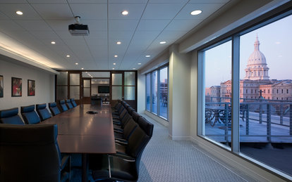 Christman Headquarters Office Workplace Design SmithGroup