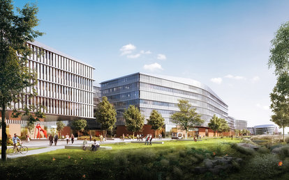 Ford Campus Workplace Plan Dearborn SmithGroup