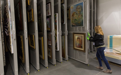 Holocaust Memorial Museum Collections & Conservation Center