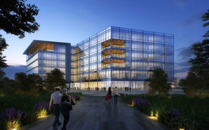 Independent Bank Breaks Ground On New Headquarters, Designed by SmithGroupJJR