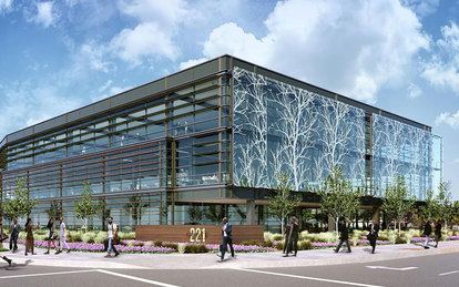 SmithGroup designs new Silicon Valley office building featuring prominent, public artwork on exterior façade